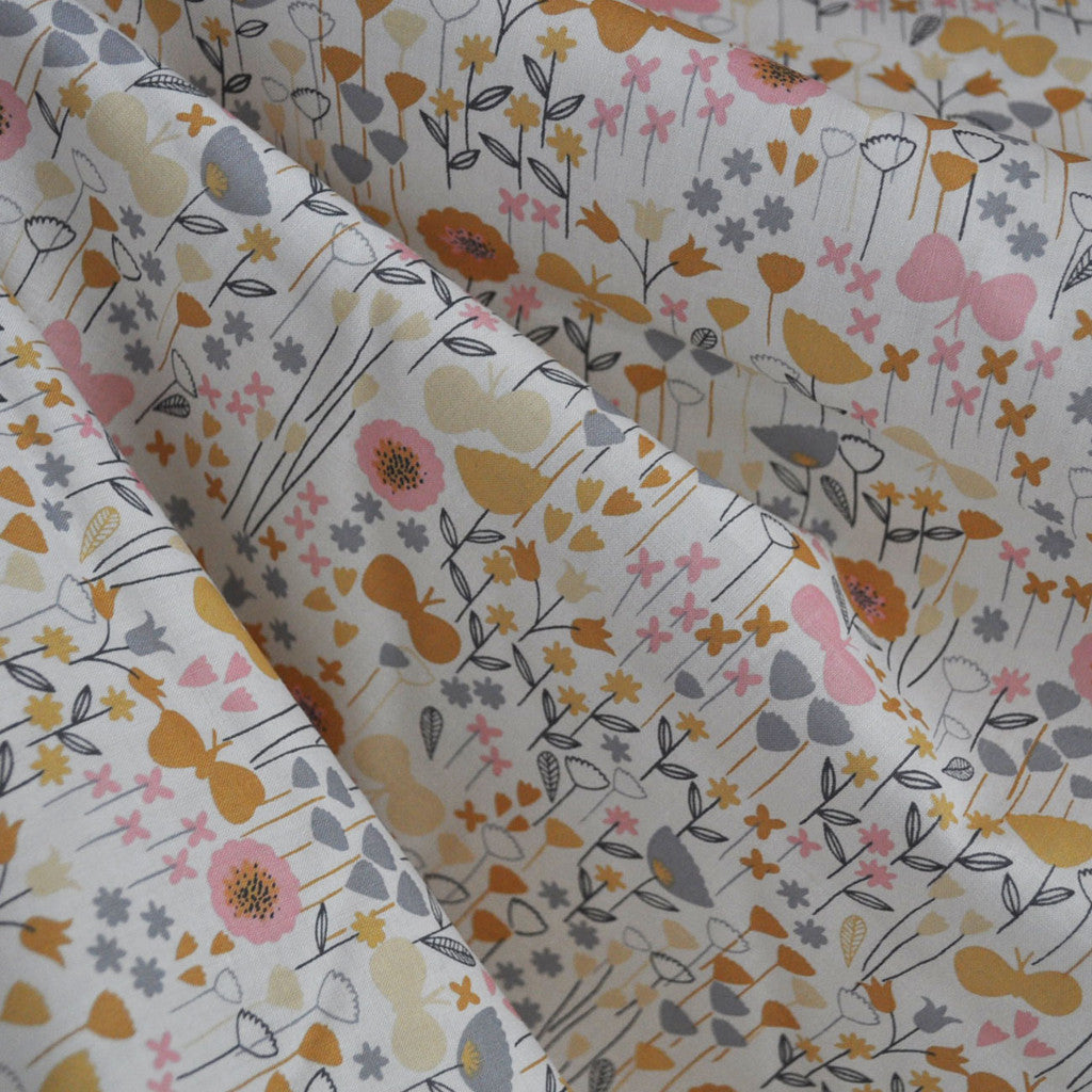 London Calling Lawn Ditsy Dawn - Sold Out - Style Maker Fabrics