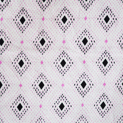Lucky Strikes Lawn Nine Pin Pink - Fabric - Style Maker Fabrics