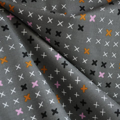Lucky Strikes Cotton Strikes Gray - Sold Out - Style Maker Fabrics