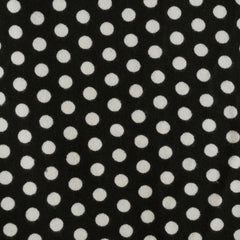 Hacchi Sweater Knit Dot Black/Cream - Sold Out - Style Maker Fabrics