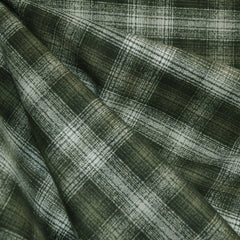 Mammoth Flannel Plaid Olive/Cream - Sold Out - Style Maker Fabrics