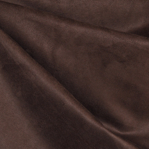 Luxury Faux Suede Chocolate