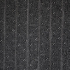 Woven Shirting Stripe Texture Charcoal - Fabric - Style Maker Fabrics