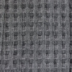 Woven Shirting Plaid Texture Grey SY - Sold Out - Style Maker Fabrics