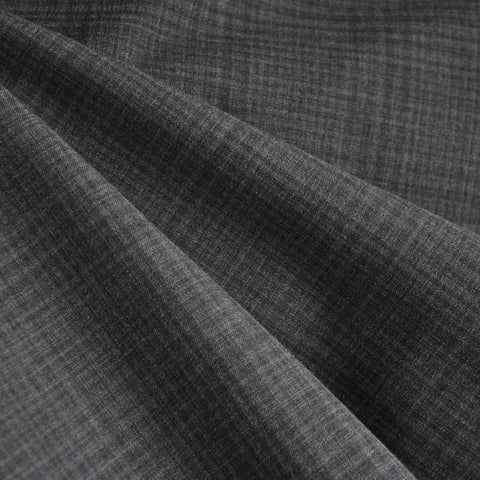 Stretch Suiting Plaid Grey