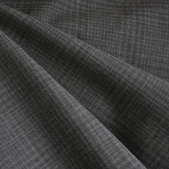 Stretch Suiting Plaid Grey - Fabric - Style Maker Fabrics