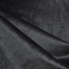 Pin Dot Velveteen Charcoal/Black SY - Sold Out - Style Maker Fabrics