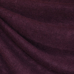 French Terry Sweater Knit Plum - Sold Out - Style Maker Fabrics