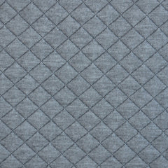 Cozy Quilted Knit Light Grey/Charcoal - Sold Out - Style Maker Fabrics