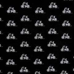 London Calling Lawn Bicycles Black - Fabric - Style Maker Fabrics