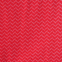 Momentum Voile Vibe Red Zig Zag - Sold Out - Style Maker Fabrics