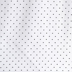 Cotton Stretch Shirting Pin Dot White/Black - Sold Out - Style Maker Fabrics