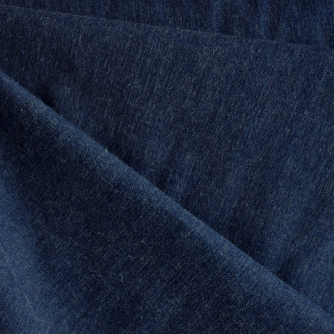 Brushed Stretch Denim Indigo