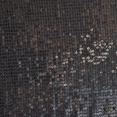 Sequin Knit Allover Gunmetal - Sold Out - Style Maker Fabrics