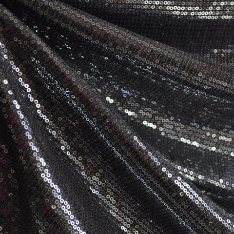 Sequin Knit Allover Gunmetal