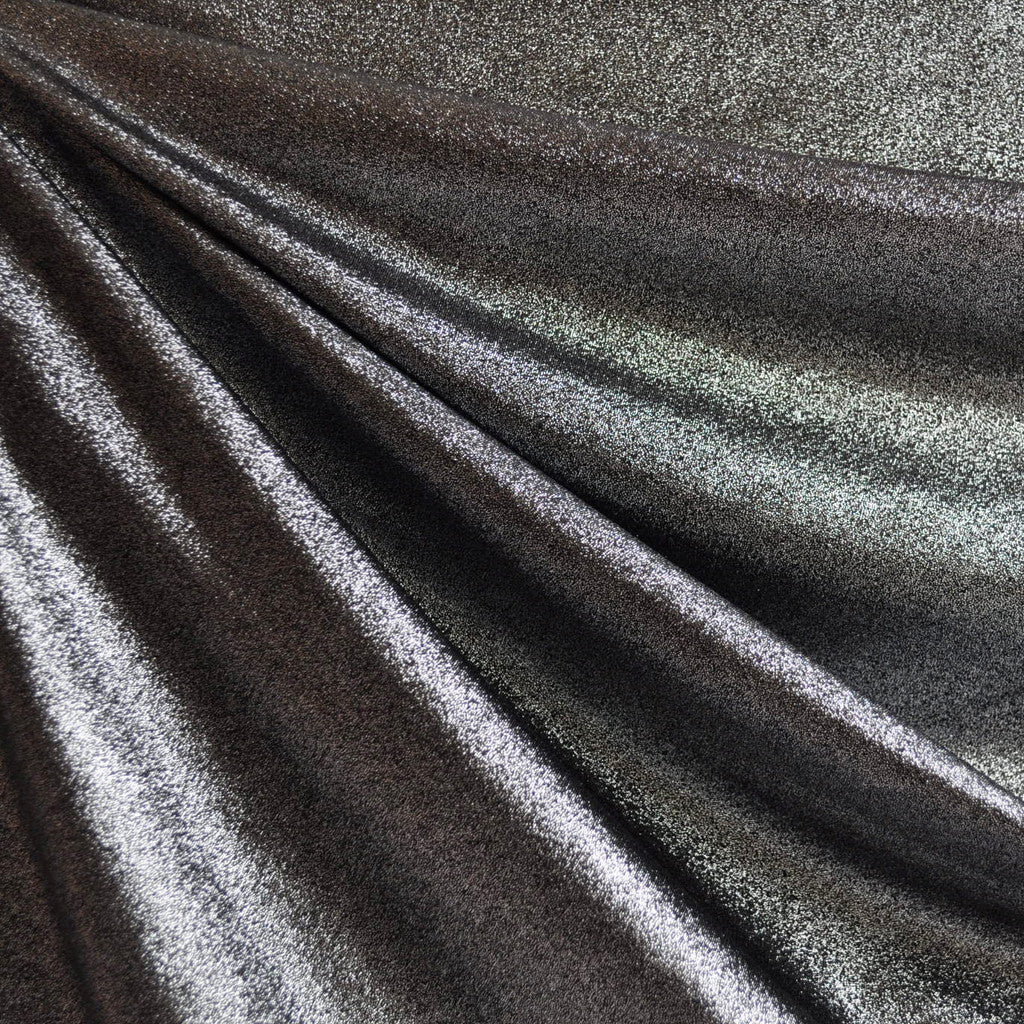 Metallic Knit Gunmetal - Fabric - Style Maker Fabrics