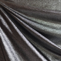 Metallic Knit Gunmetal SY - Sold Out - Style Maker Fabrics