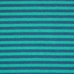 Jersey Knit Stripe Teal/Jade - Sold Out - Style Maker Fabrics