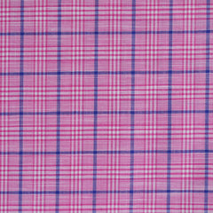 Shirting Plaid Pink/Navy - Sale - Style Maker Fabrics