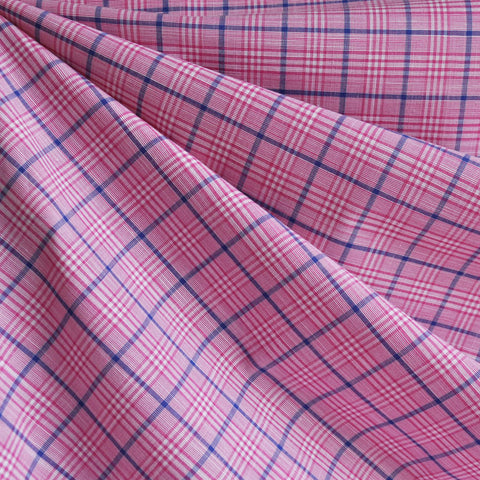 Shirting Plaid Pink/Navy SY