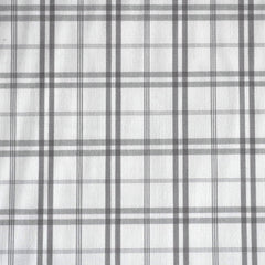 Shirting Plaid Grey/White SY - Sold Out - Style Maker Fabrics