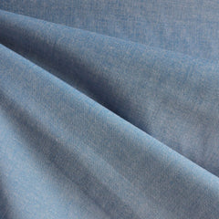Japanese Selvage Tencel Shirting Light Blue - Fabric - Style Maker Fabrics
