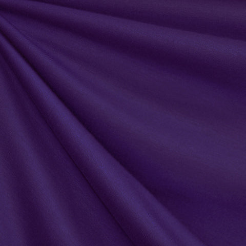 French Terry Solid Purple