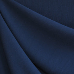 Rayon Crepe Solid Navy Blue - Sold Out - Style Maker Fabrics