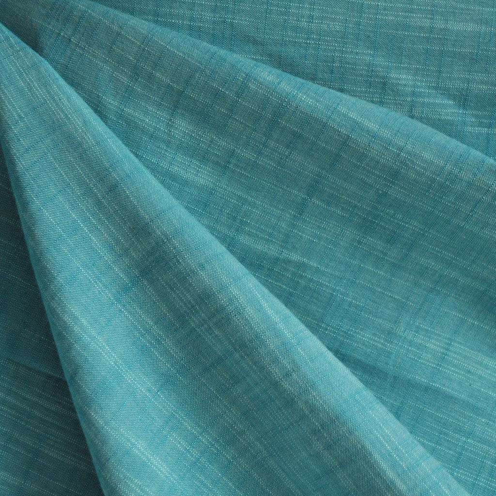 Manchester Yarn Dyed Shirting Peacock - Sold Out - Style Maker Fabrics