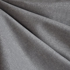 Essex Yarn Dyed Metallic Fog/Silver - Fabric - Style Maker Fabrics