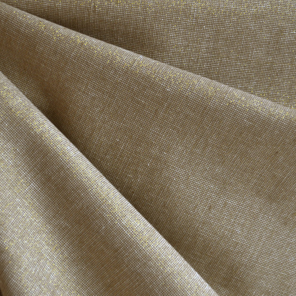 Essex Yarn Dyed Metallic Camel/Gold SY - Sold Out - Style Maker Fabrics