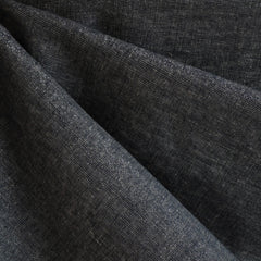 Essex Yarn Dyed Metallic Midnight/Silver - Sold Out - Style Maker Fabrics