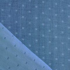 Double Gauze Chambray Dobby Marine - Fabric - Style Maker Fabrics