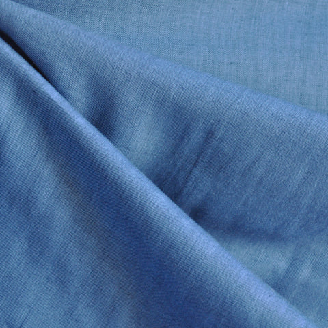 Double Gauze Chambray Marine