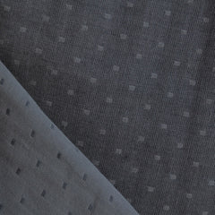 Double Gauze Chambray Dobby Black - Sold Out - Style Maker Fabrics