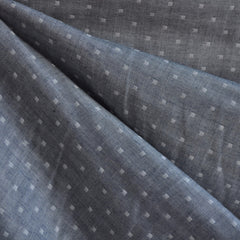 Double Gauze Chambray Dobby Indigo - Sold Out - Style Maker Fabrics