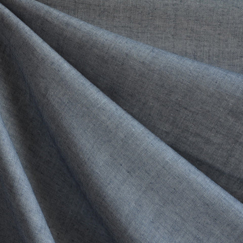 Double Gauze Chambray Indigo