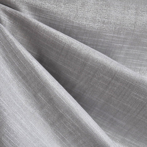 Manchester Metallic Shirting Silver