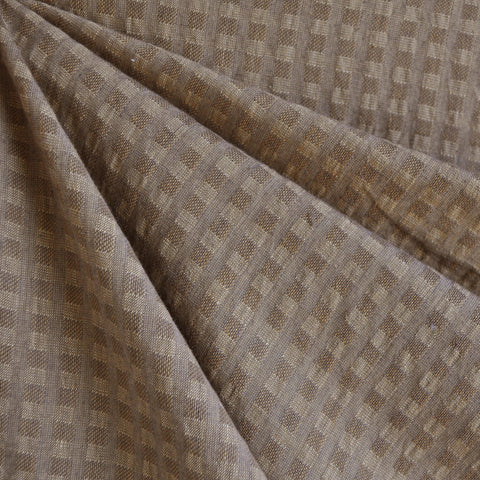 Woven Shirting Plaid Texture Taupe