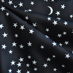 BedHead Big Dipper Cotton Sateen Black - Sold Out - Style Maker Fabrics