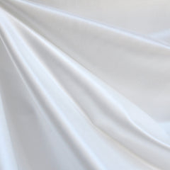 Radiance Silk Blend Sateen PFD White - Fabric - Style Maker Fabrics