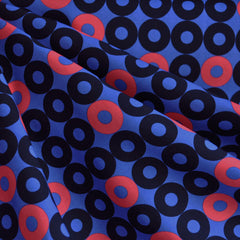 Rotary Club Ring Rings Rayon Dusk - Fabric - Style Maker Fabrics