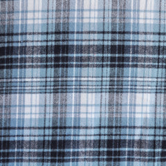 Cotton Flannel Denim/White - Sold Out - Style Maker Fabrics