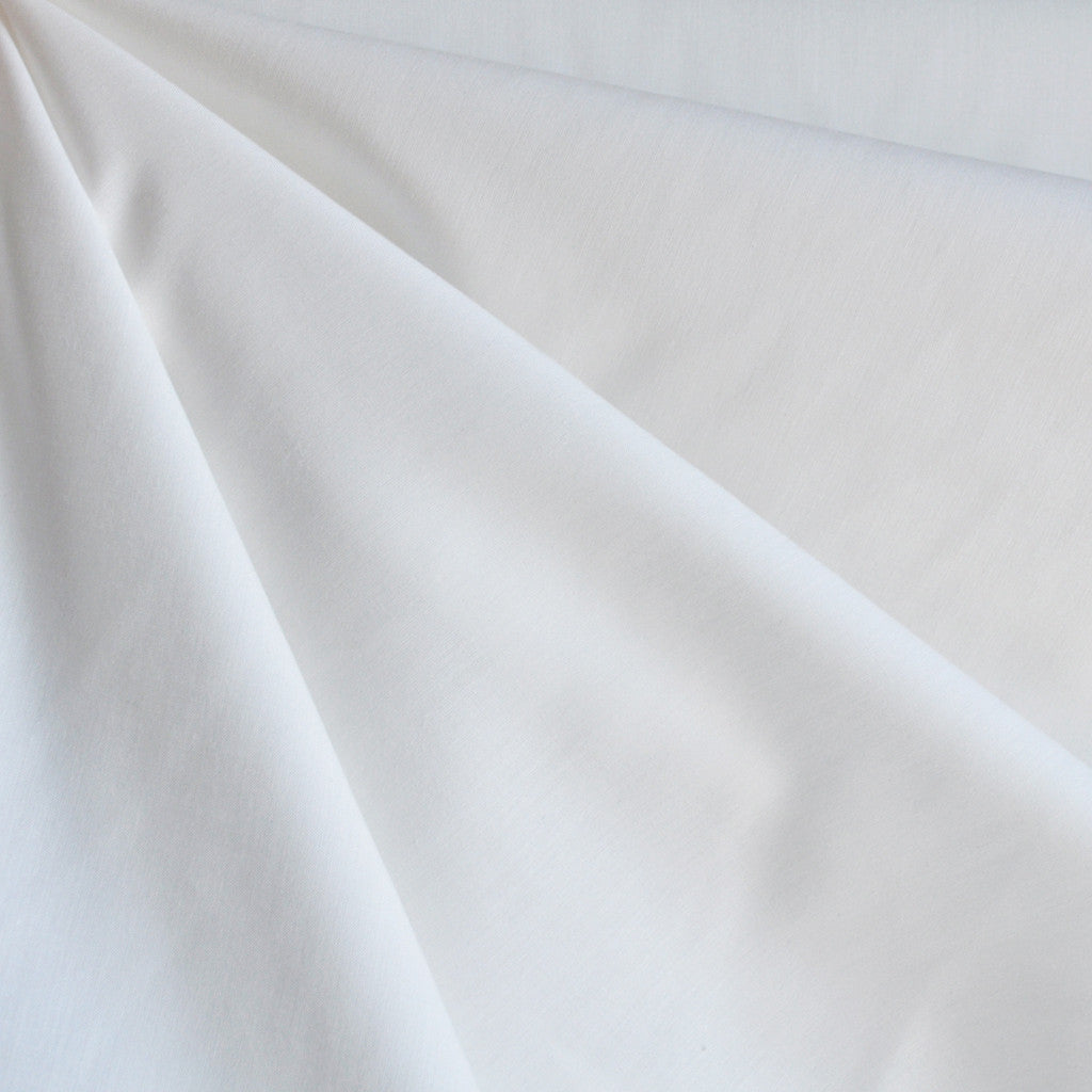 Japanese Selvage Tencel Shirting White - Sold Out - Style Maker Fabrics