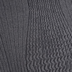 Italian Chunky Sweater Knit Charcoal - Sold Out - Style Maker Fabrics