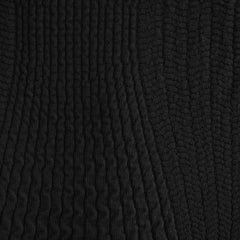 Italian Chunky Sweater Knit Black - Sold Out - Style Maker Fabrics