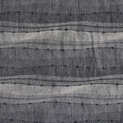 Japanese Textured Stripe Shirting Greys - Sold Out - Style Maker Fabrics