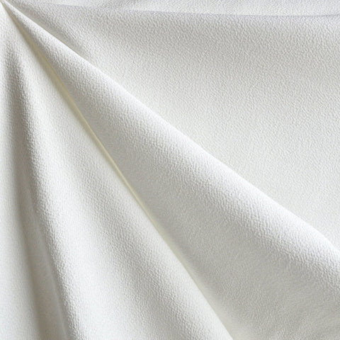 Rayon Crepe Solid Off White