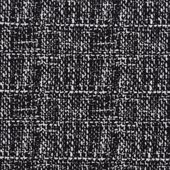 Tweed Textured Double Knit Black/White - Fabric - Style Maker Fabrics