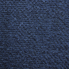Boucle Textured Sweater Knit Navy/Silver - Sold Out - Style Maker Fabrics